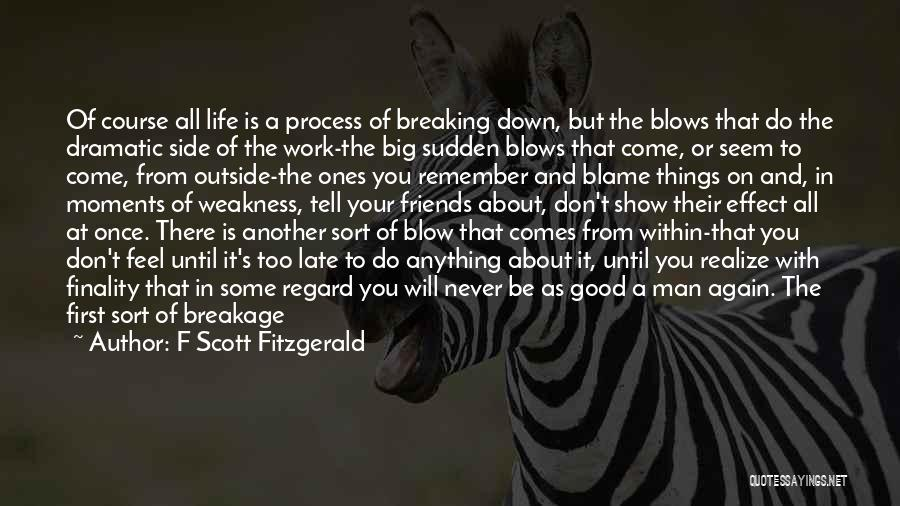 Dramatic Friends Quotes By F Scott Fitzgerald