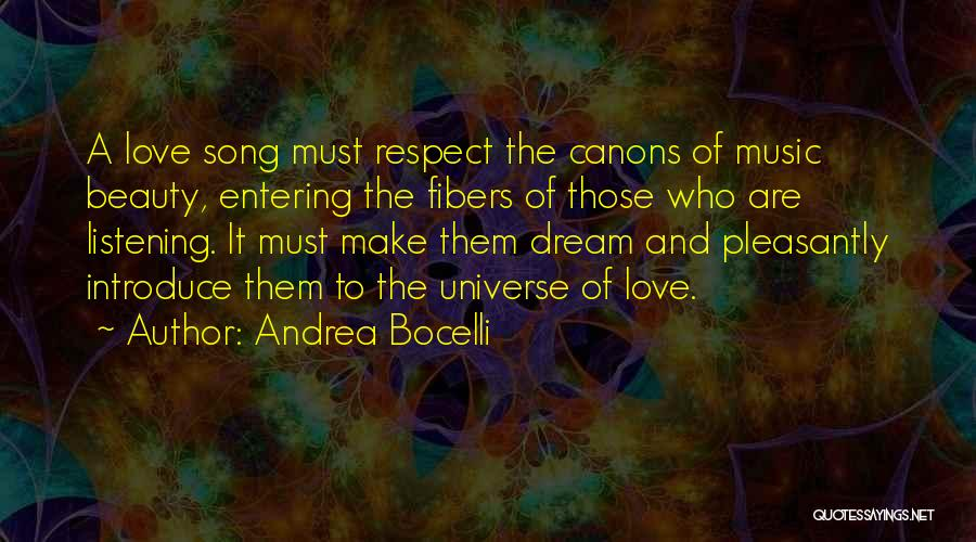 Dream And Love Quotes By Andrea Bocelli