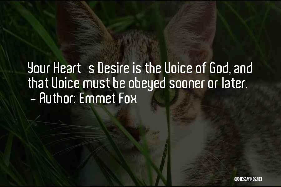 Dream Big God Quotes By Emmet Fox