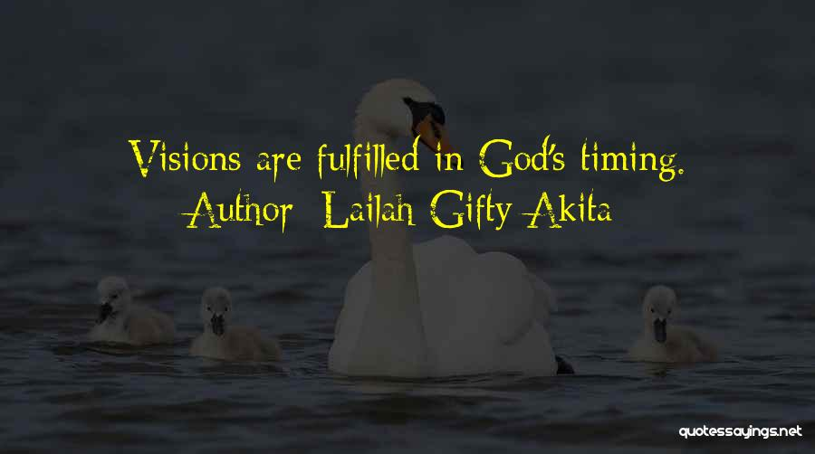 Dream Big God Quotes By Lailah Gifty Akita