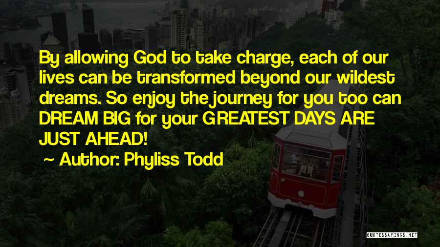 Dream Big God Quotes By Phyliss Todd