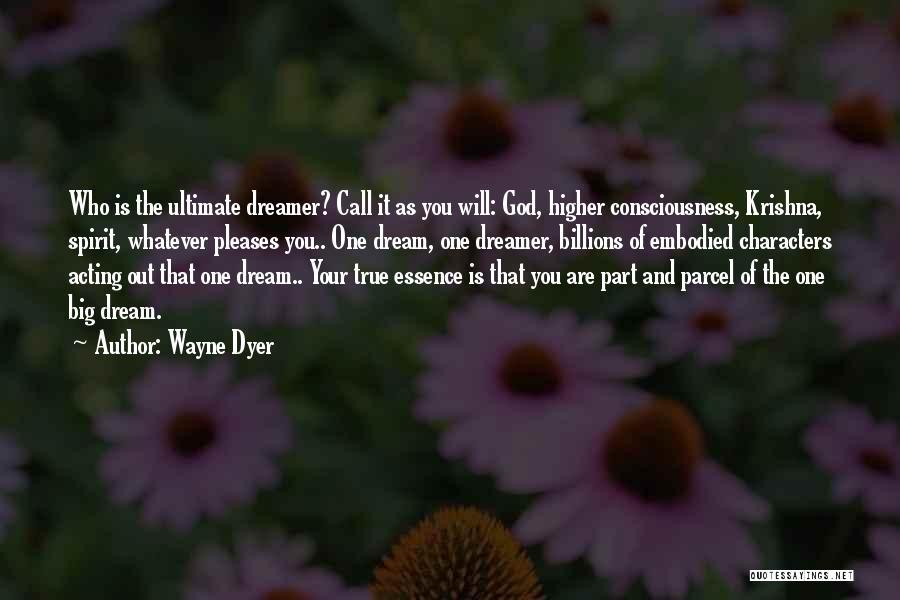 Dream Big God Quotes By Wayne Dyer