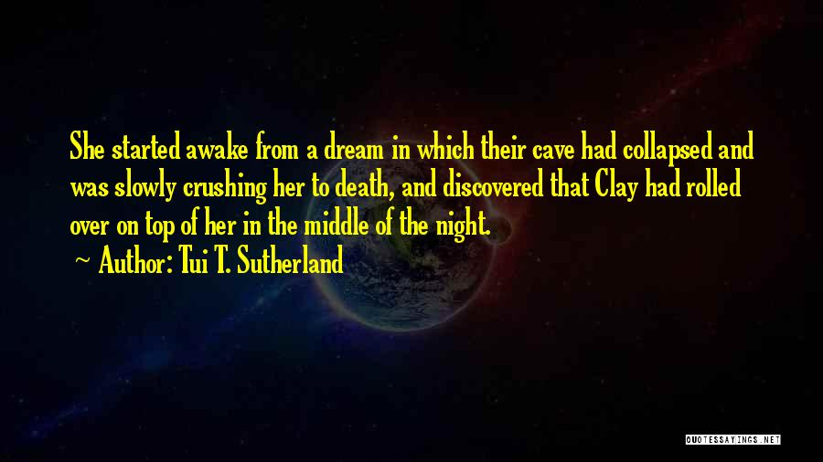 Dream Crushing Quotes By Tui T. Sutherland