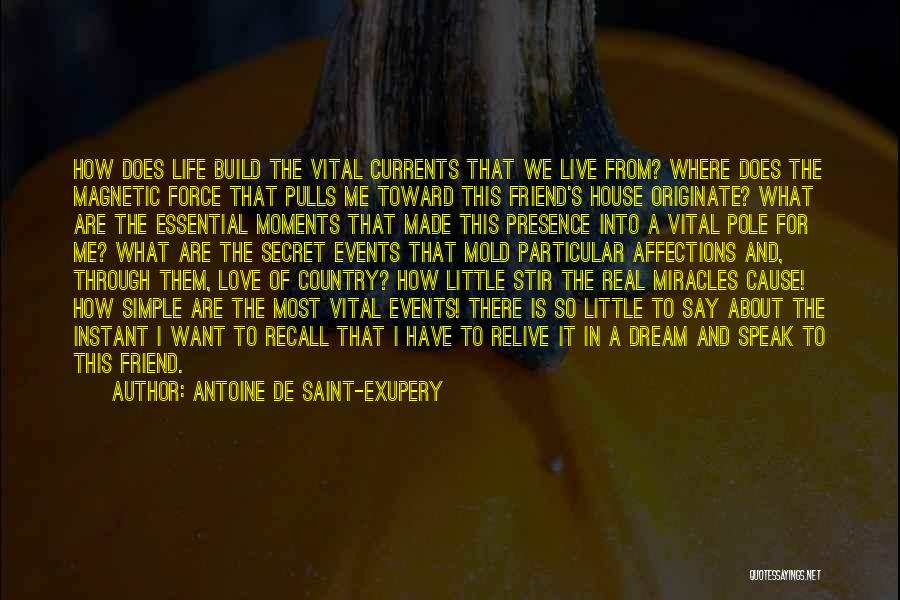 Dream It Live It Love It Quotes By Antoine De Saint-Exupery