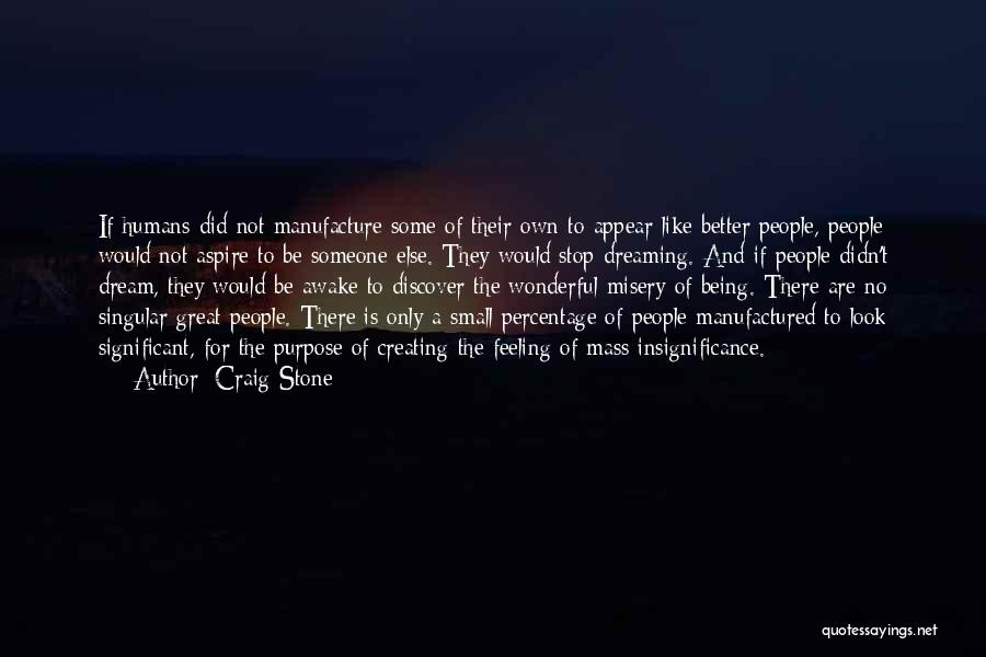Dreaming Of Someone You Like Quotes By Craig Stone