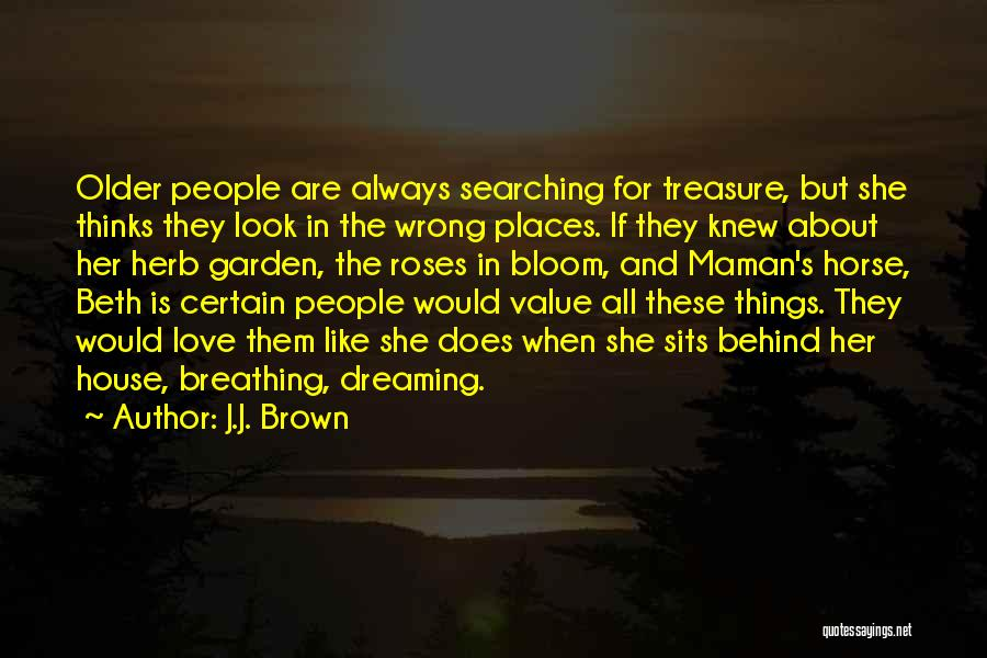 Dreaming Of Someone You Like Quotes By J.J. Brown
