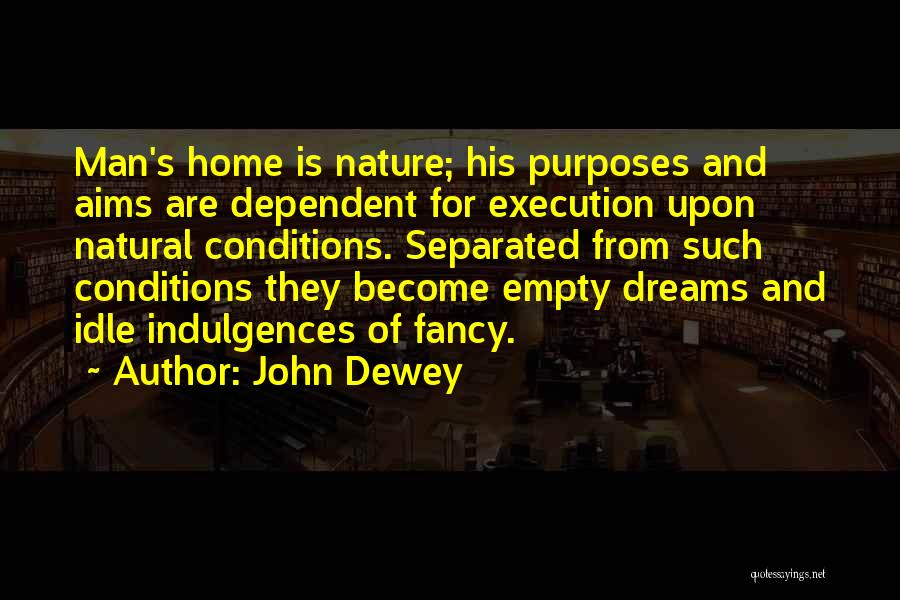 Dreams And Aims Quotes By John Dewey