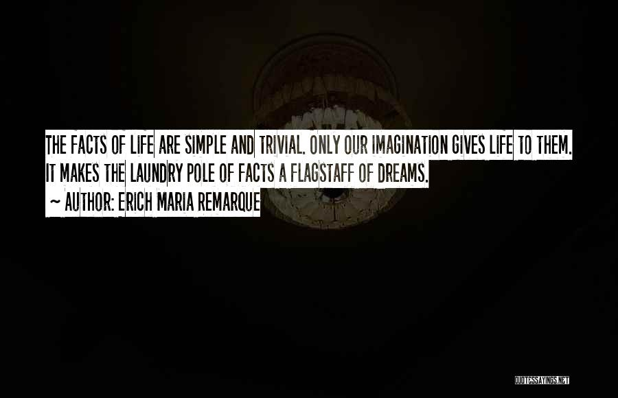 Dreams And Imagination Quotes By Erich Maria Remarque
