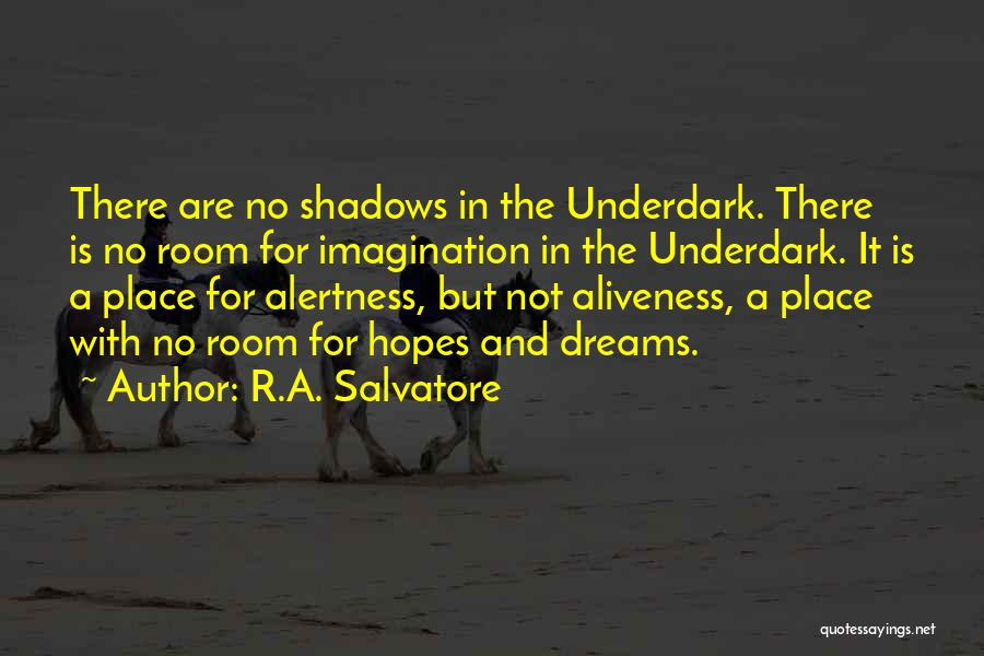 Dreams And Imagination Quotes By R.A. Salvatore