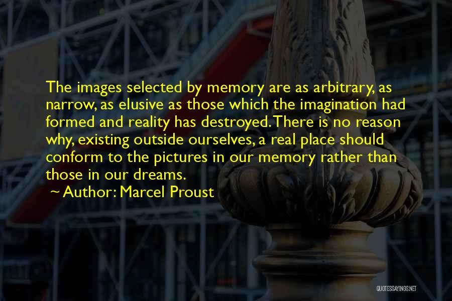Dreams And Reality Quotes By Marcel Proust