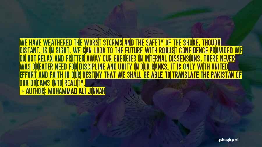 Dreams And Reality Quotes By Muhammad Ali Jinnah