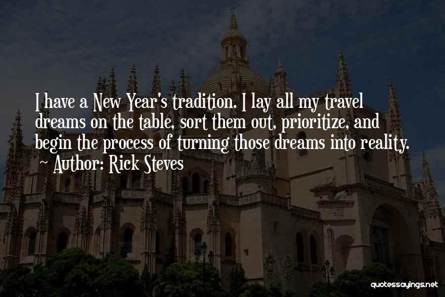 Dreams And Reality Quotes By Rick Steves