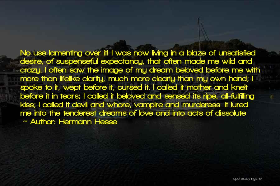 Dreams Fulfilling Quotes By Hermann Hesse