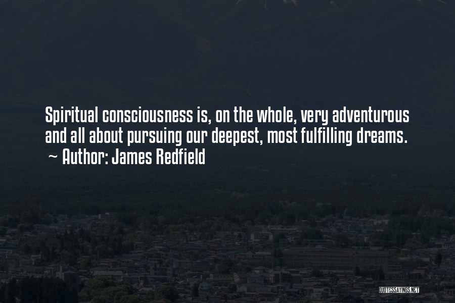 Dreams Fulfilling Quotes By James Redfield