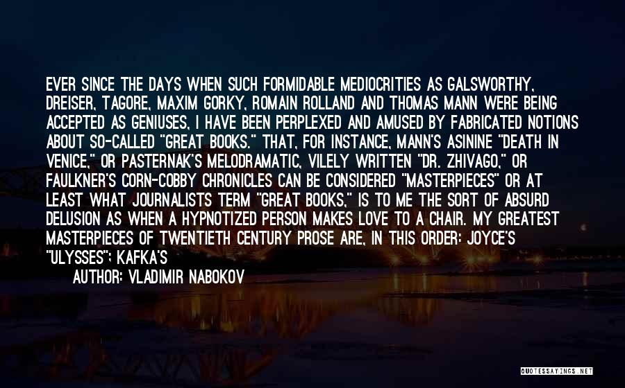 Dreiser Quotes By Vladimir Nabokov