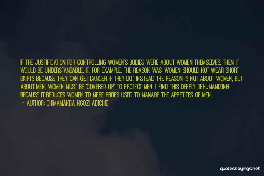 Dress Skirts Quotes By Chimamanda Ngozi Adichie