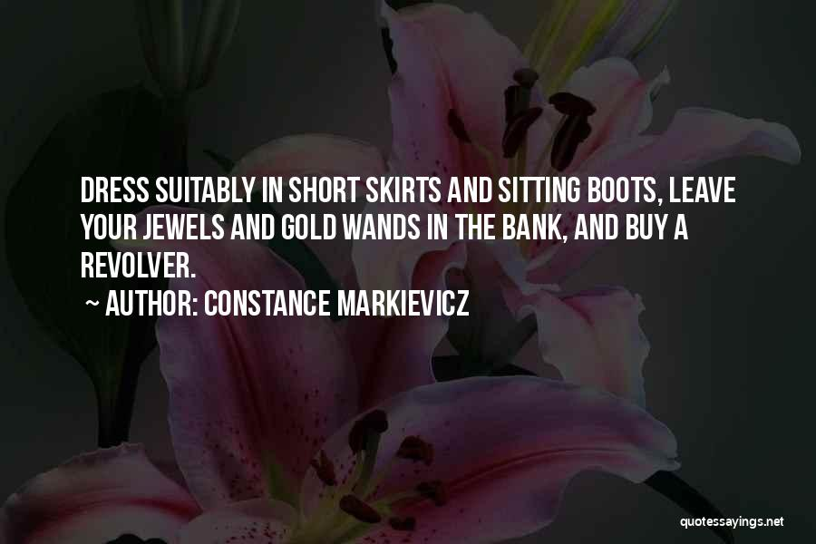 Dress Skirts Quotes By Constance Markievicz