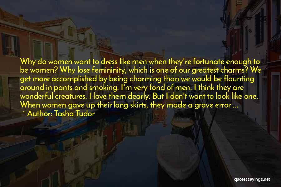 Dress Skirts Quotes By Tasha Tudor