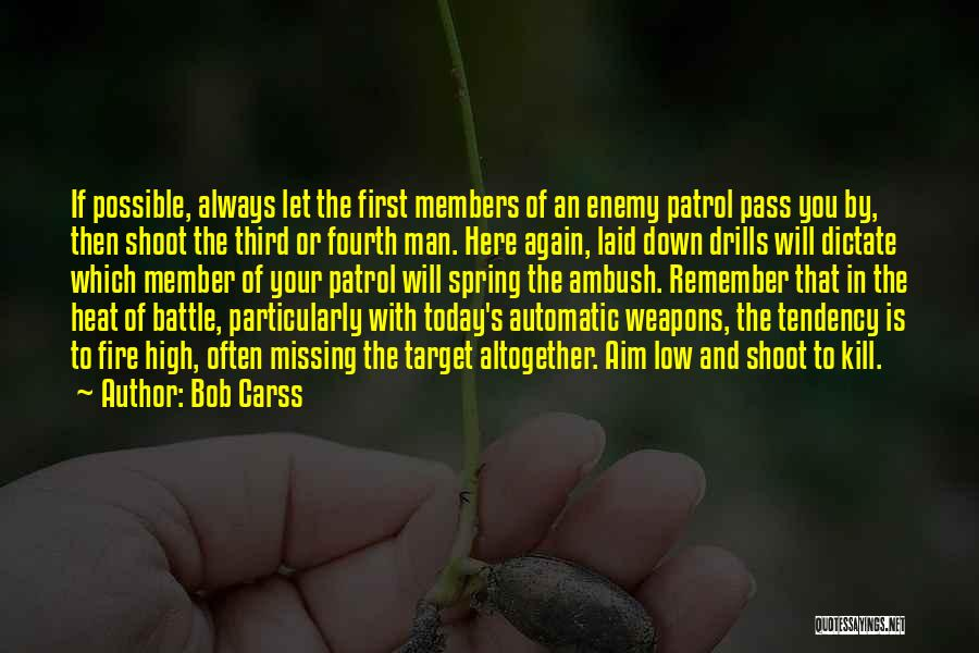 Drills Quotes By Bob Carss