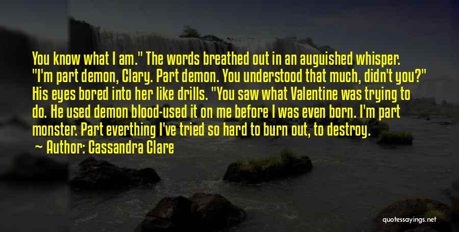 Drills Quotes By Cassandra Clare