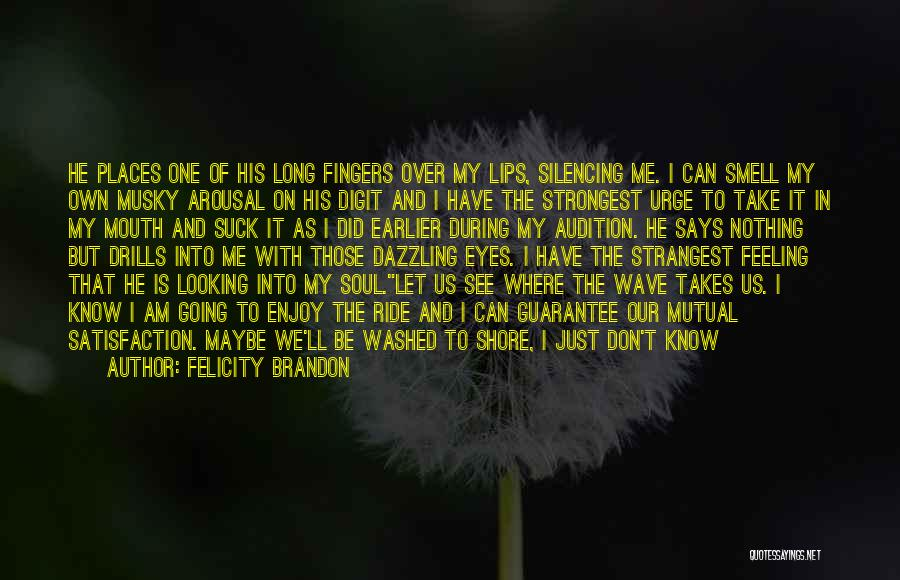 Drills Quotes By Felicity Brandon