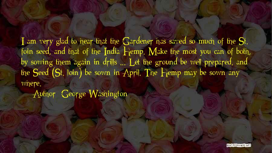Drills Quotes By George Washington
