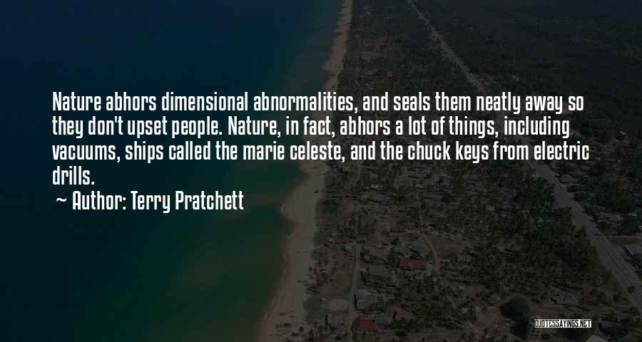Drills Quotes By Terry Pratchett
