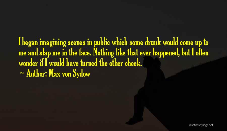 Drunk In Public Quotes By Max Von Sydow