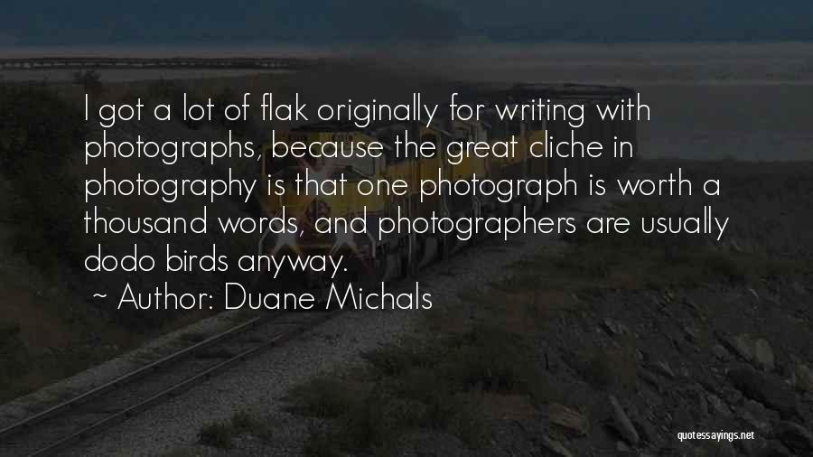 Duane Michals Quotes 500385
