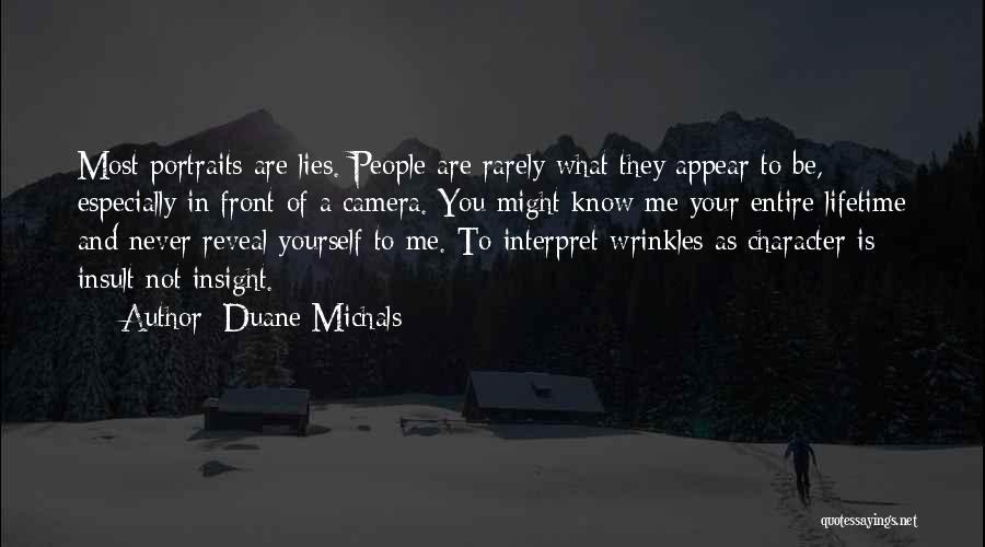 Duane Michals Quotes 903335
