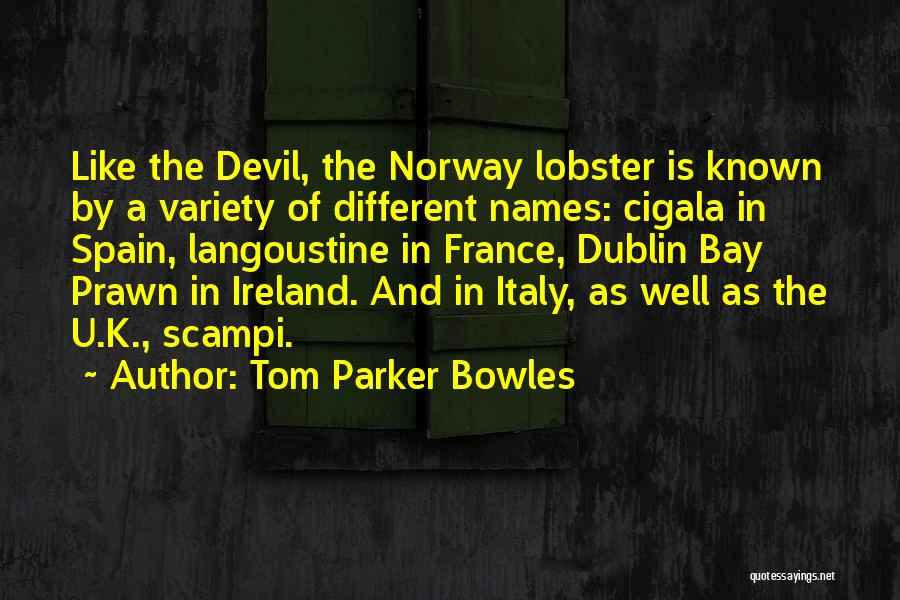 Dublin Ireland Quotes By Tom Parker Bowles