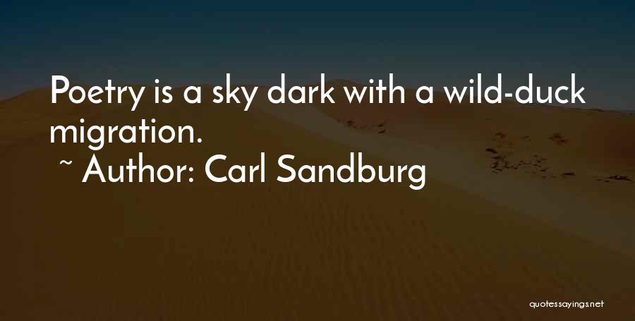 Duck Quotes By Carl Sandburg