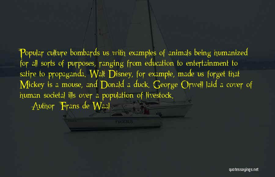 Duck Quotes By Frans De Waal