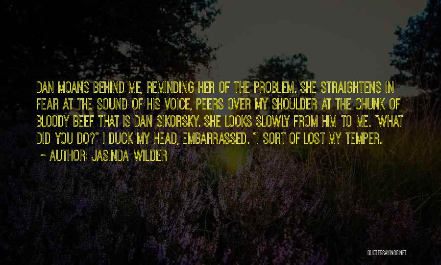 Duck Quotes By Jasinda Wilder