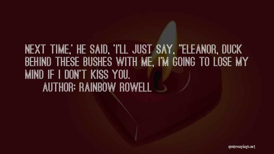 Duck Quotes By Rainbow Rowell