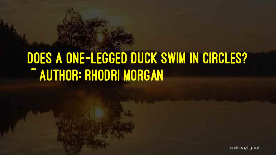 Duck Quotes By Rhodri Morgan