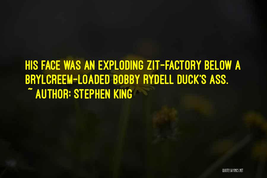 Duck Quotes By Stephen King