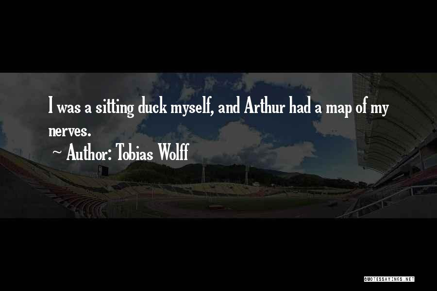 Duck Quotes By Tobias Wolff