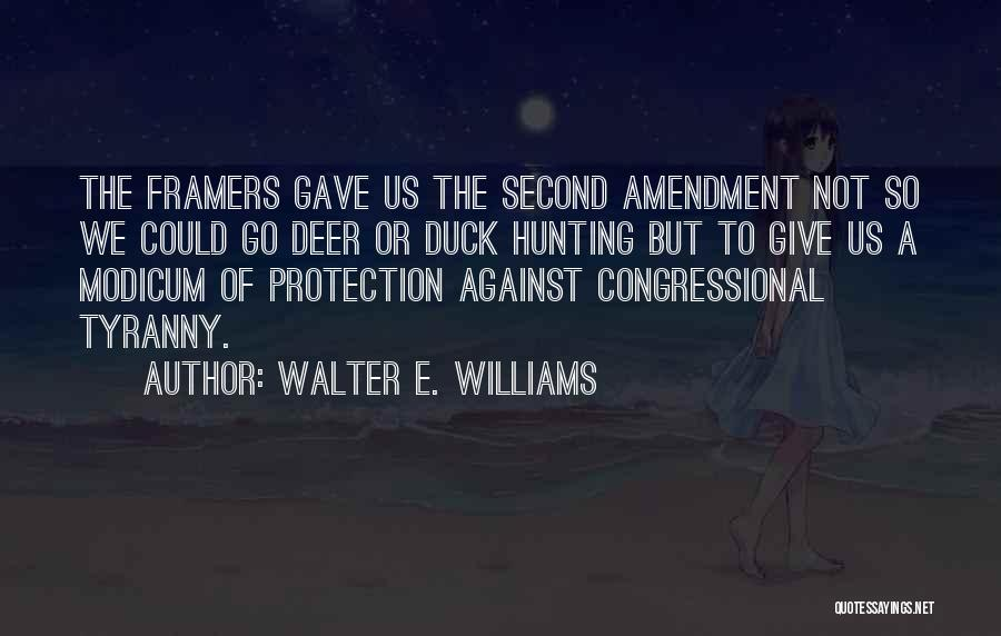 Duck Quotes By Walter E. Williams