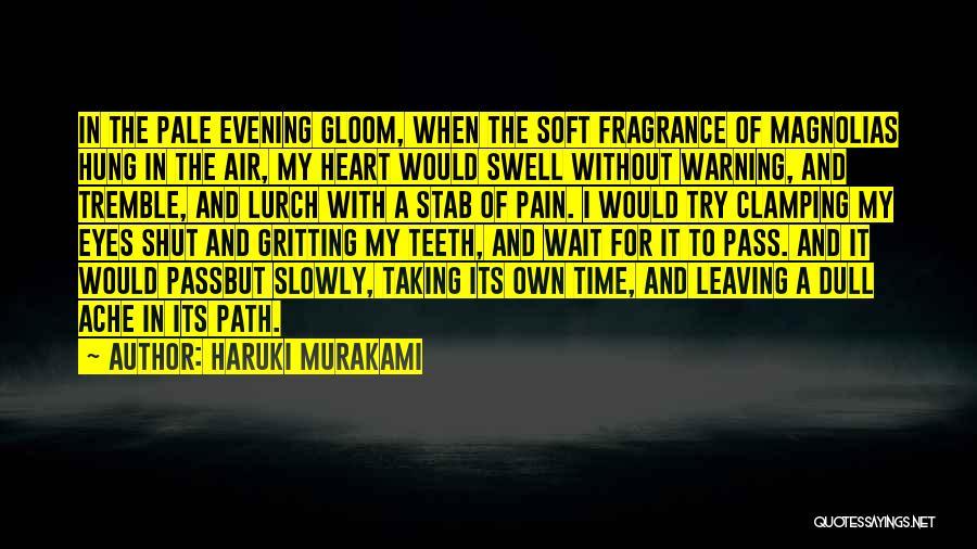 Dull Evening Quotes By Haruki Murakami