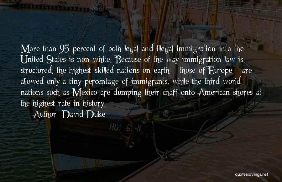 Dumping Him Quotes By David Duke