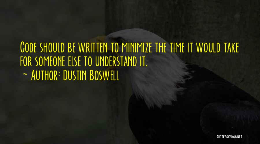 Dustin Boswell Quotes 2142731