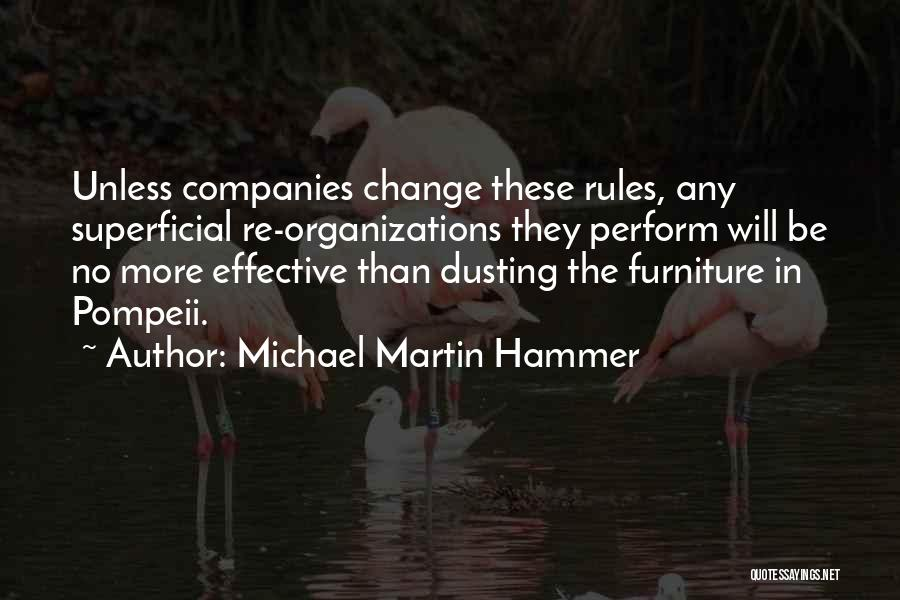 Dusting Off Quotes By Michael Martin Hammer