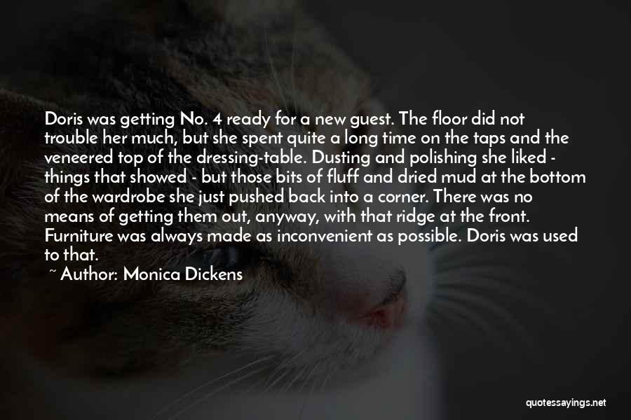 Dusting Off Quotes By Monica Dickens