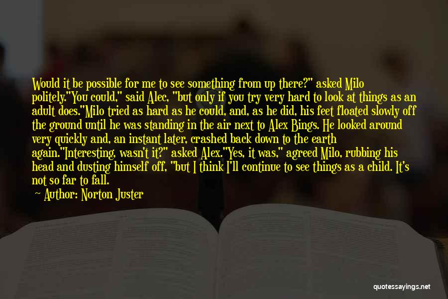Dusting Off Quotes By Norton Juster