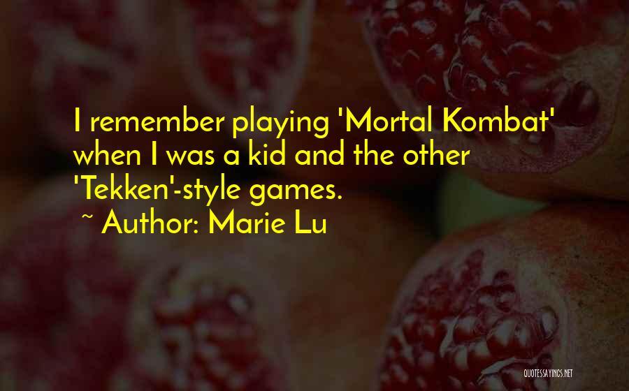 D'vorah Mortal Kombat Quotes By Marie Lu