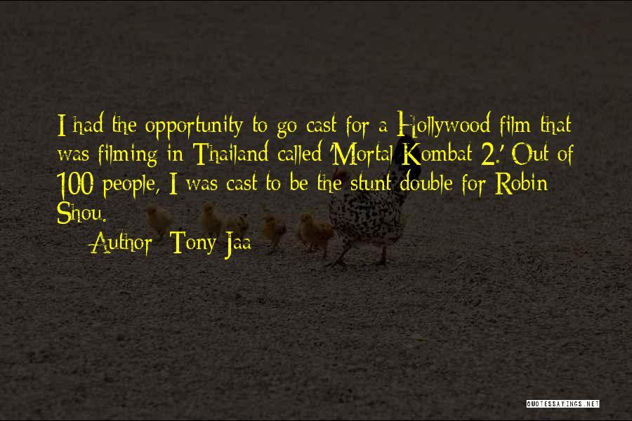D'vorah Mortal Kombat Quotes By Tony Jaa