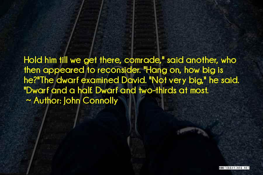 Dwarf Quotes By John Connolly