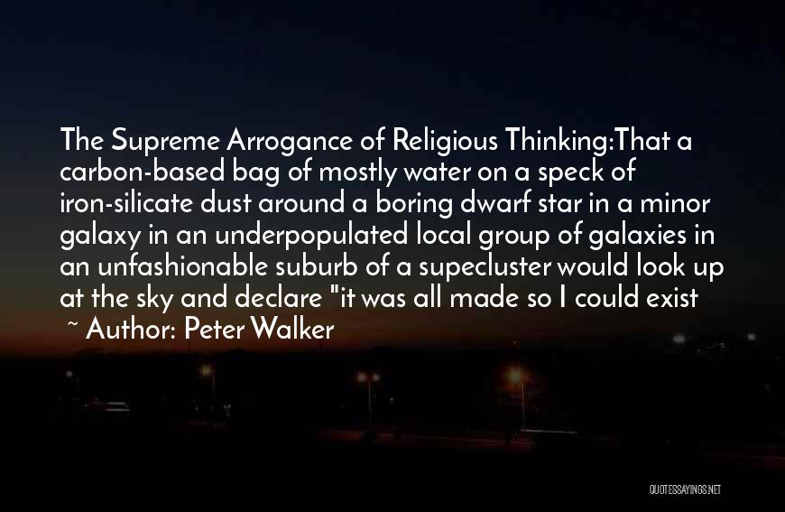 Dwarf Quotes By Peter Walker