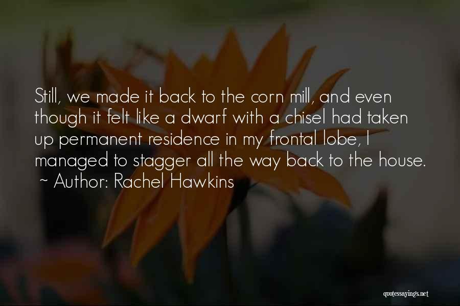 Dwarf Quotes By Rachel Hawkins